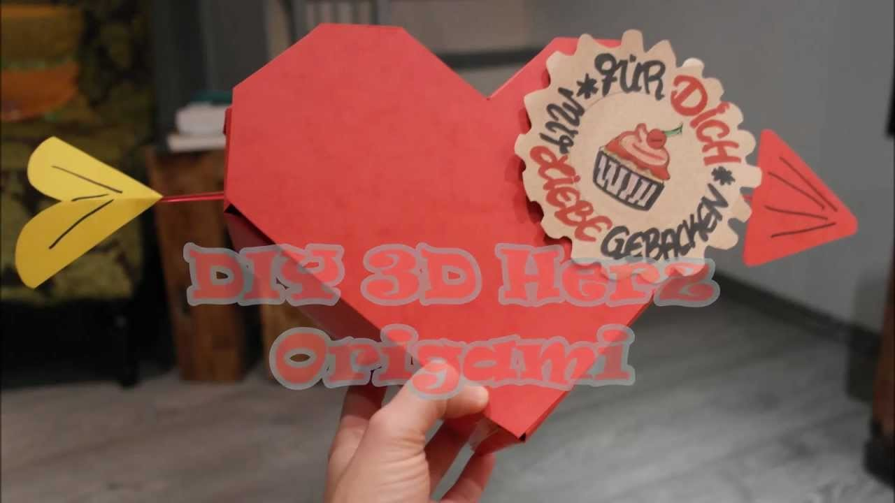 3D Herzbox als Valentinstagsgeschenk