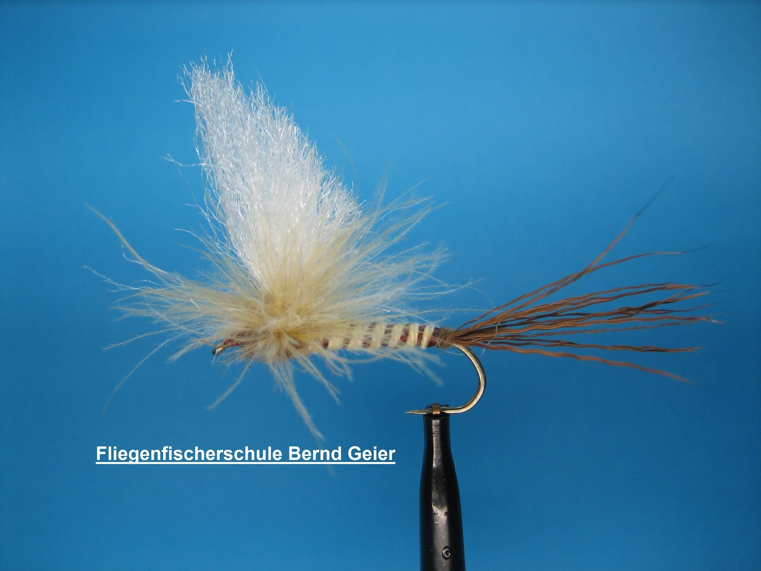 B.G. CDC- Rehhaar- Maifliege Danica, CDC- Deerhair- Mayfly Danica