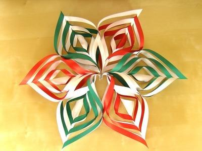 Basteln für Weihnachten: Sterne basteln