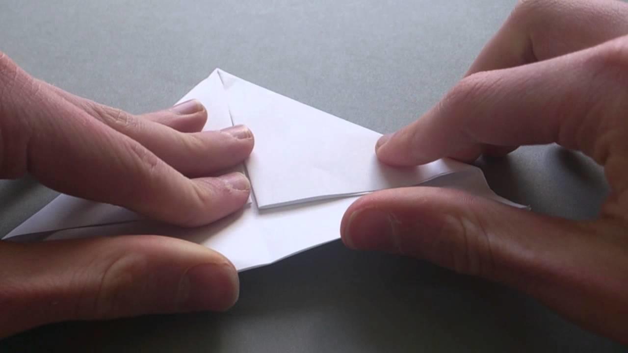 Basteln: Hut aus papier falten- wie man einen Hut Papier falten kann