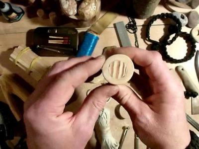 Basteln mit olleGüni. Behältnisse aus Holz.