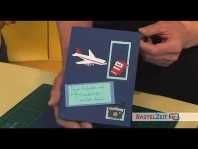 Bastelzeit TV  6 - Teil 1 - Einladung zum Sommerfest - Selbst gemacht