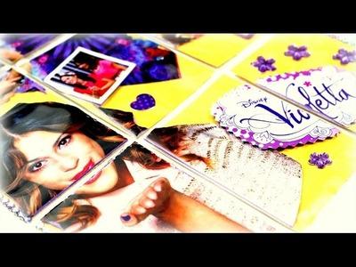 Disney Violetta Pocket Letter deutsch - DIY Ideen Basteln mit Papier Pocket Letters