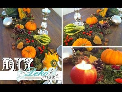 DIY: Opulente Herbst-Deko für den Tisch | Deko Kitchen