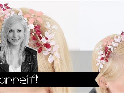 Frühlings-DIY: Blumen-Haarreif ganz leicht selber basteln (KINNERTIED - MACH'S SELBST!)