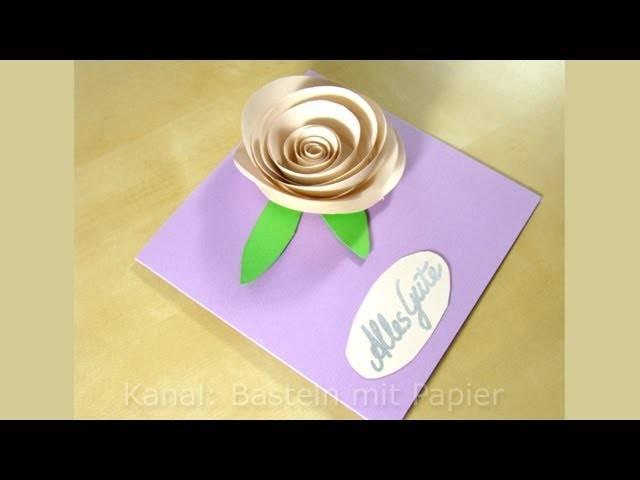 Geburtstagskarten basteln  - Basteln Ideen - DIY Geschenk