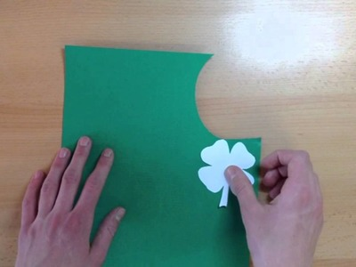 Glücksbringer basteln - Glückskleeblatt selber machen