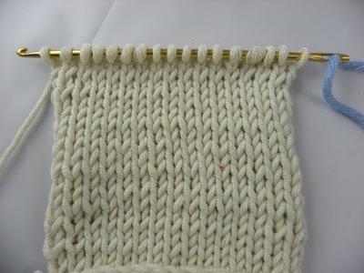 Knooking - Glatt rechts - hatnut Wolle von Pro Lana
