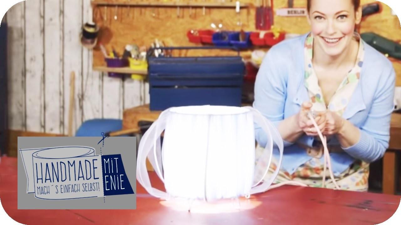 Lampe aus Organza | Handmade mit Enie - Mach's einfach selbst | sixx