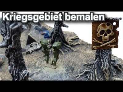 Lets paint Minis # 17 - Bemal Tutorial Warhammer 40K Kriegsgebiet - Anfägner geeignet