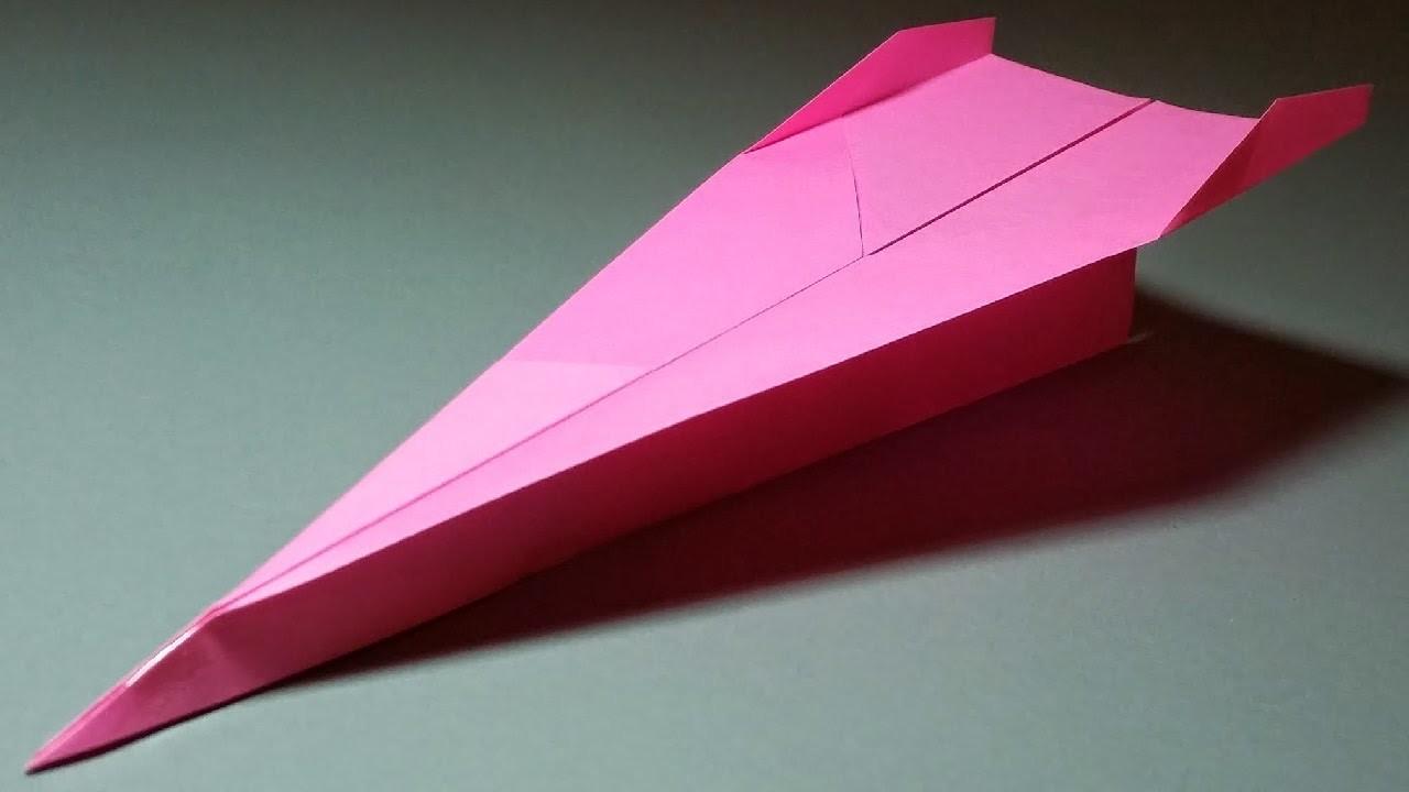 Papierflieger falten - Basteln - Papier falten - Beste Papierflieger der Welt - Rekord | Seaside