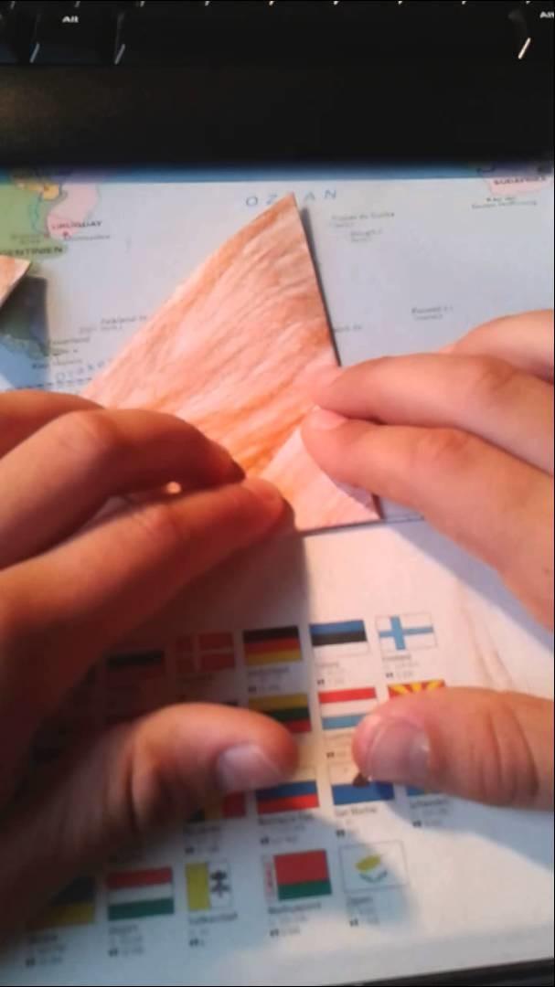 Tutorial  Hund aus papier basteln