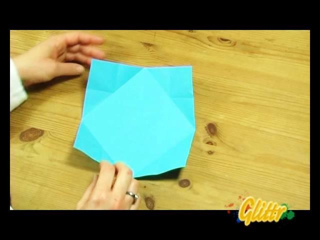 Windmühle & Windrad basteln - Anleitung zum selber falten