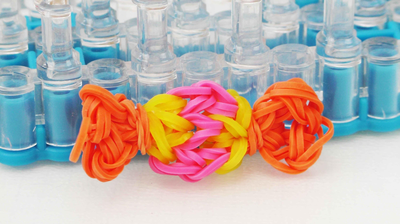 Bonbon Charm Loom Bands | Candy Charm | Loom Board | Schlüsselanhänger
