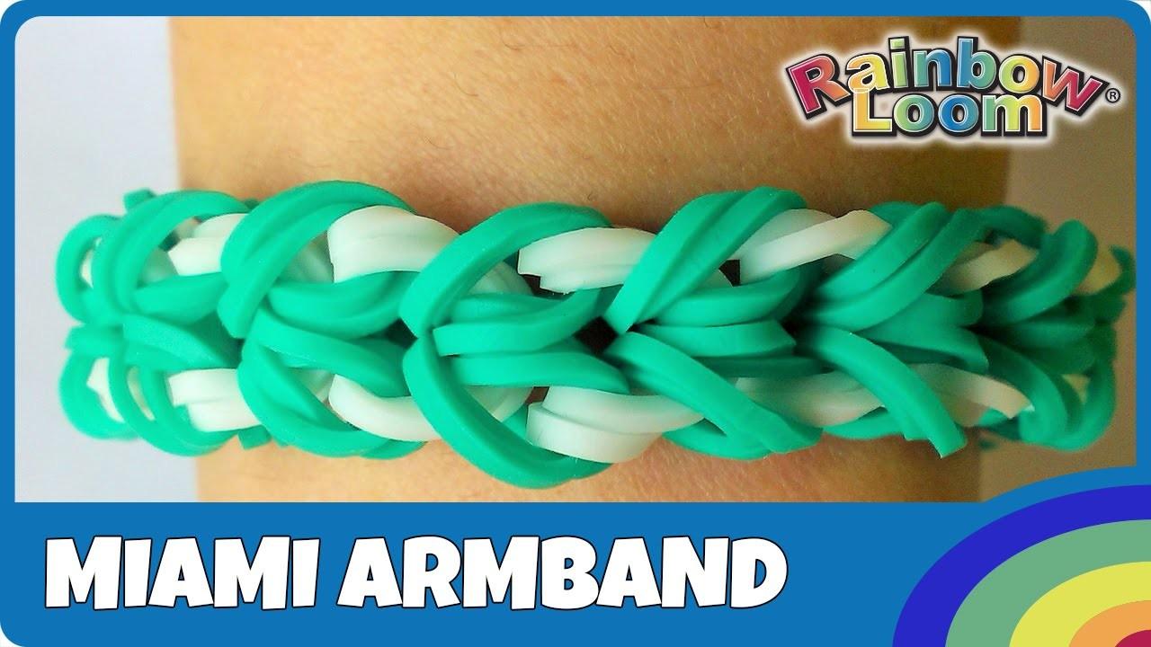 FingerLoom Miami-Armband - deutsche Anleitung