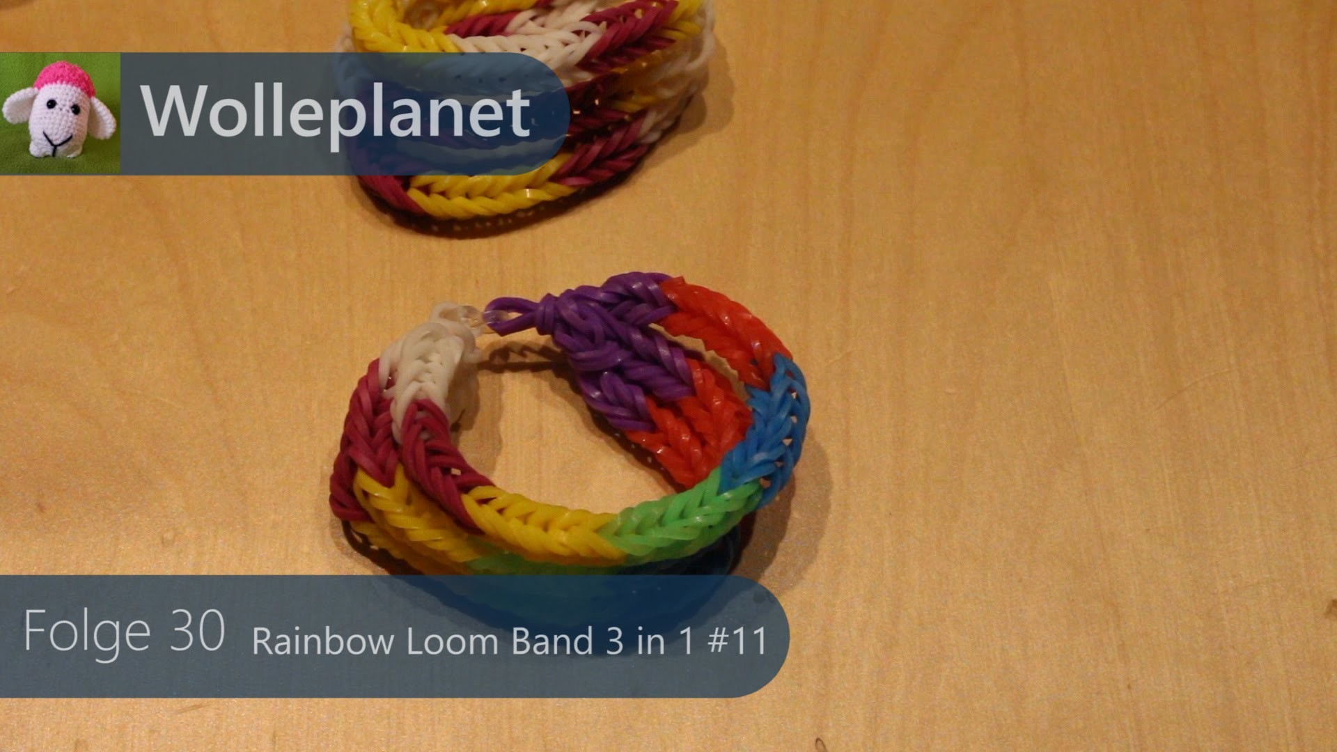 Loom Band 3 in 1 mit Loom #11