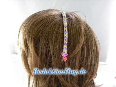 Loom Bands HairLoom Rainbow Loom C Veronika Hug