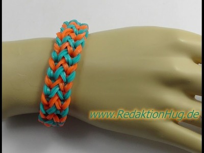 Loom Bands ohne Rainbow Loom Deutsch A 13 - Veronika Hug