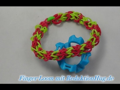 Loom Bands - Rainbow Loom - Finger-Loom - Band G - Veronika Hug