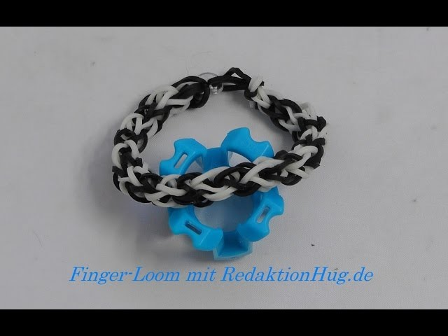Loom Bands - Rainbow Loom - Finger-Loom - Band B - Veronika Hug