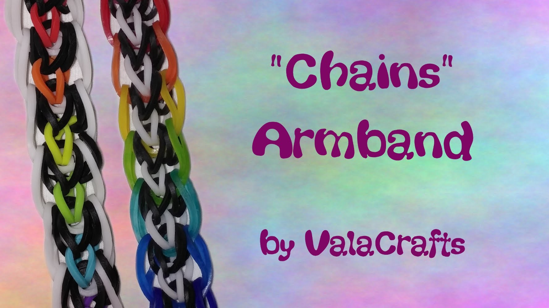 NEU Rainbow Loom Chains Armband (Original Design)