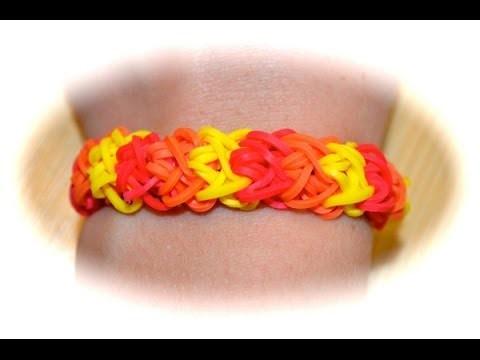Rainbow Loom Doppel X Armband (deutsche Anleitung)