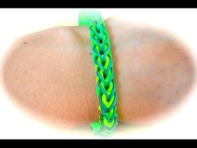Rainbow Loom French Braid Armband (deutsche Anleitung)