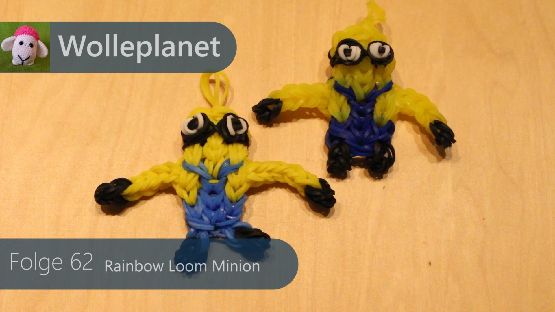 Rainbow Loom - Minion