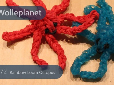 Rainbow Loom Octopus mit Loom