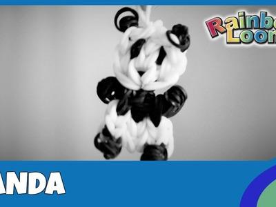 Rainbow Loom Panda - deutsche Anleitung
