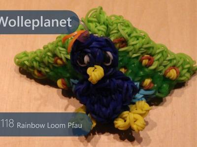 Rainbow Loom Pfau mit Loom