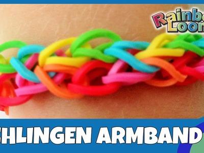 Rainbow Loom Schlingen-Armband - deutsche Anleitung
