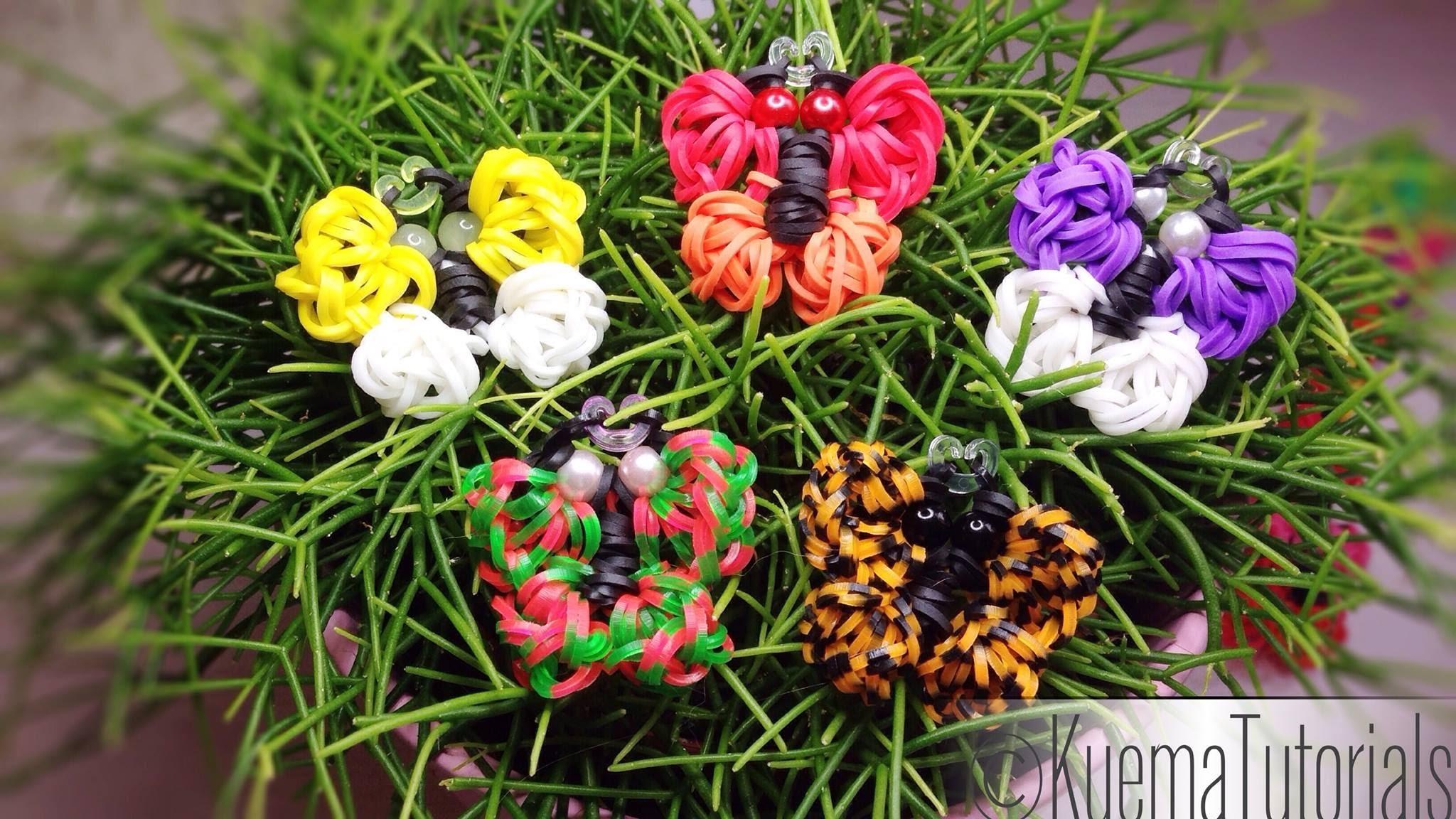 Rainboww Loom Schmetterling - Butterfly Dekoration