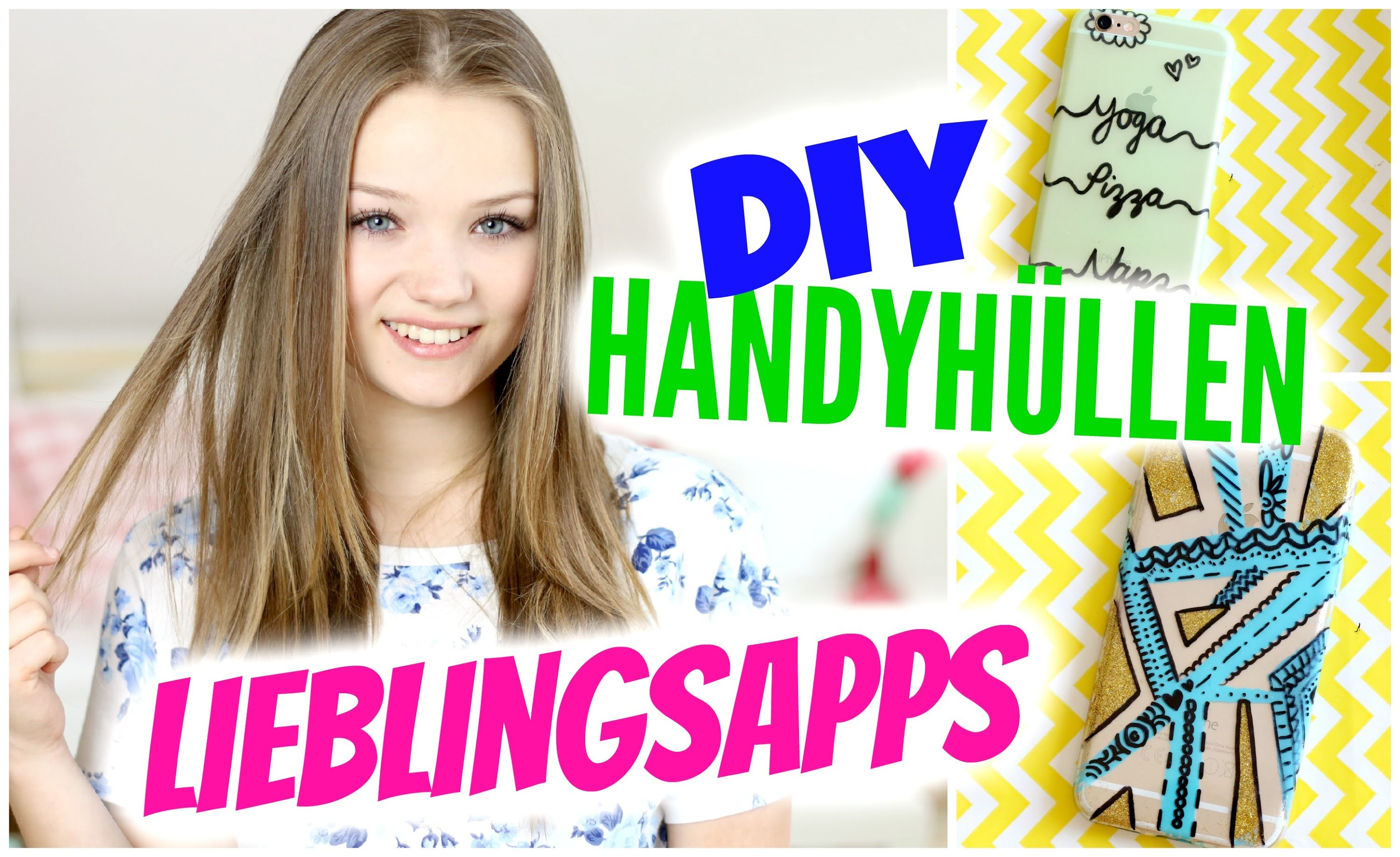 WHATS ON MY PHONE & DIY HANDYHÜLLEN | Julia Beautx