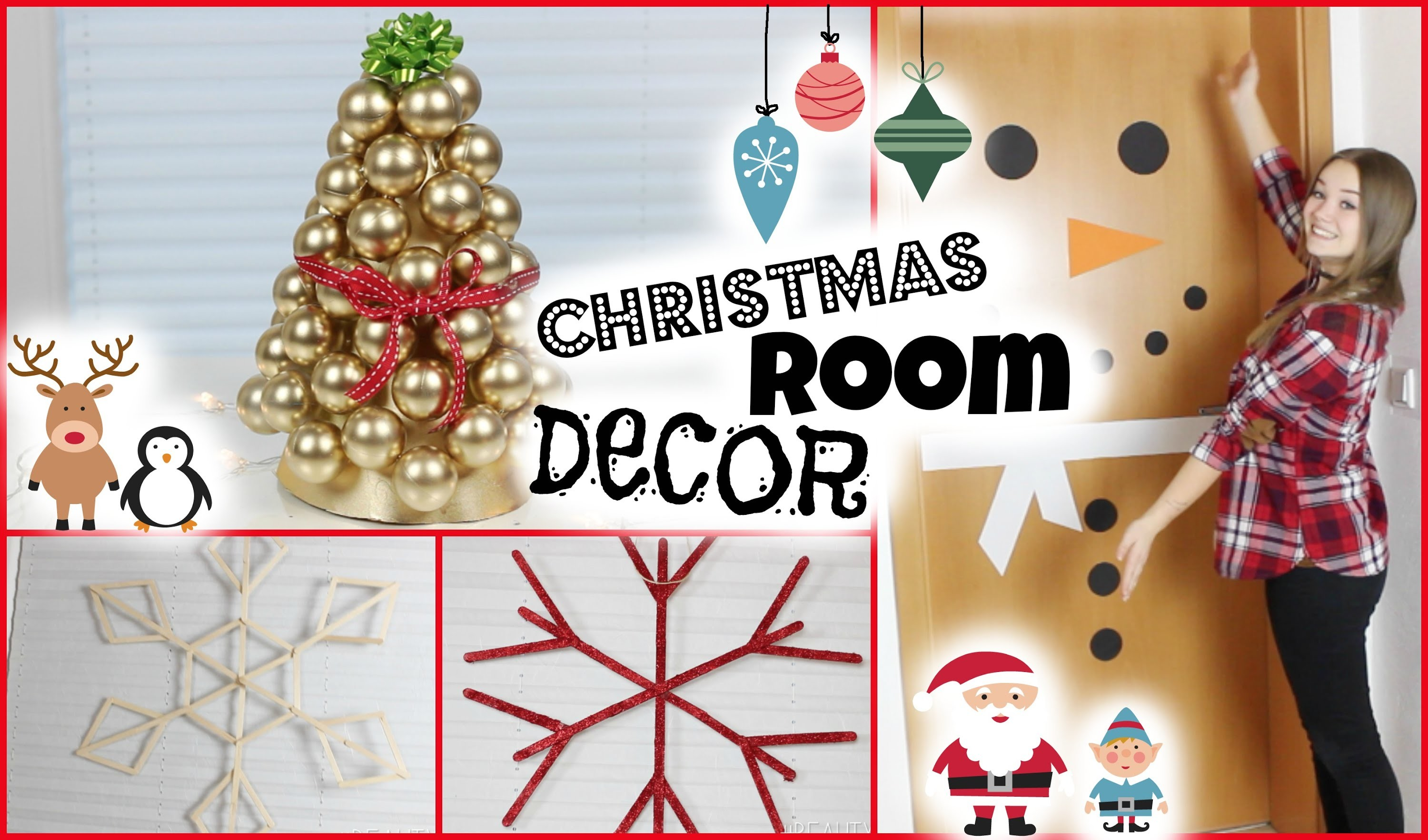 DIY CHRISTMAS ROOM DECOR + VERLOSUNG | #beautxmas mit msfashionandcreative