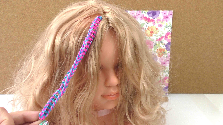 Hair Loom Fishtail - 2-farbig Tutorial. DIY Anleitung zu selber machen