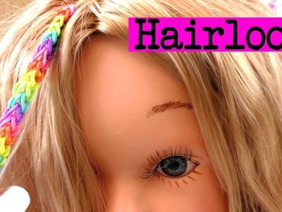 Hairloom Studio Single 3-Pin Anleitung deutsch - Rainbow Loom für die Haare Tutorial