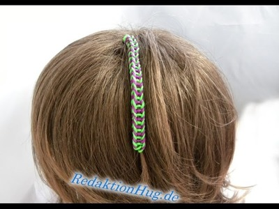 Loom Bands HairLoom Rainbow Loom B Veronika Hug
