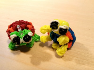 Loom Schildkrötenbaby 3D Anleitung