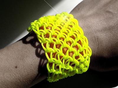 Netzarmband - Dr. Loom - © Woolpedia