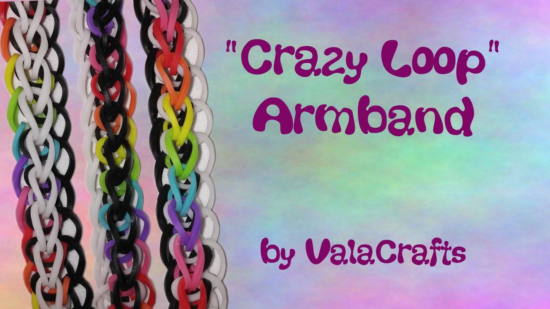NEU Rainbow Loom Crazy Loop Armband (Original Design)