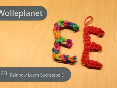 Rainbow Loom Buchstabe E mit Loom