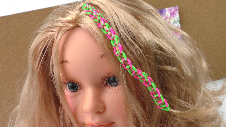 Rainbow Loom Hair Studio Grundlagen Anleitung für Anfänger einfach Grundmuster Technik