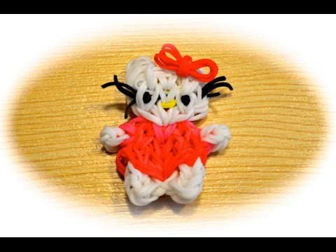Rainbow Loom Hello Kitty (deutsche Anleitung)