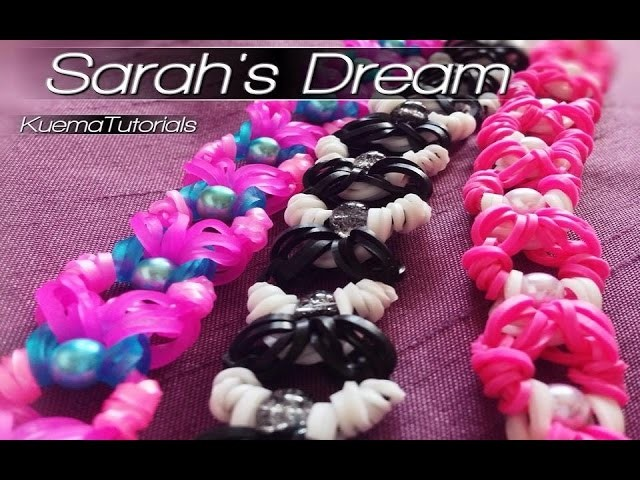 Rainbow Loom Sarah's Dream Armband. bracelet