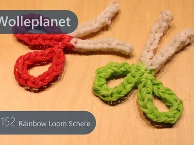 Rainbow Loom Schere mit Gabel