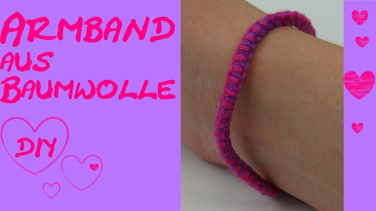 DIY Armband selber machen. sehr einfach. snake knot. Schlangen Knoten