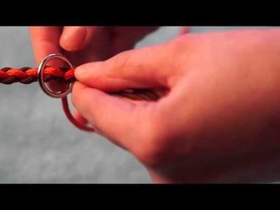 DIY Paracord Hundeleine rund