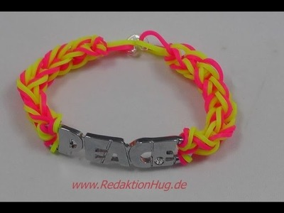 Loom Bands Peace ohne Rainbow Loom - I