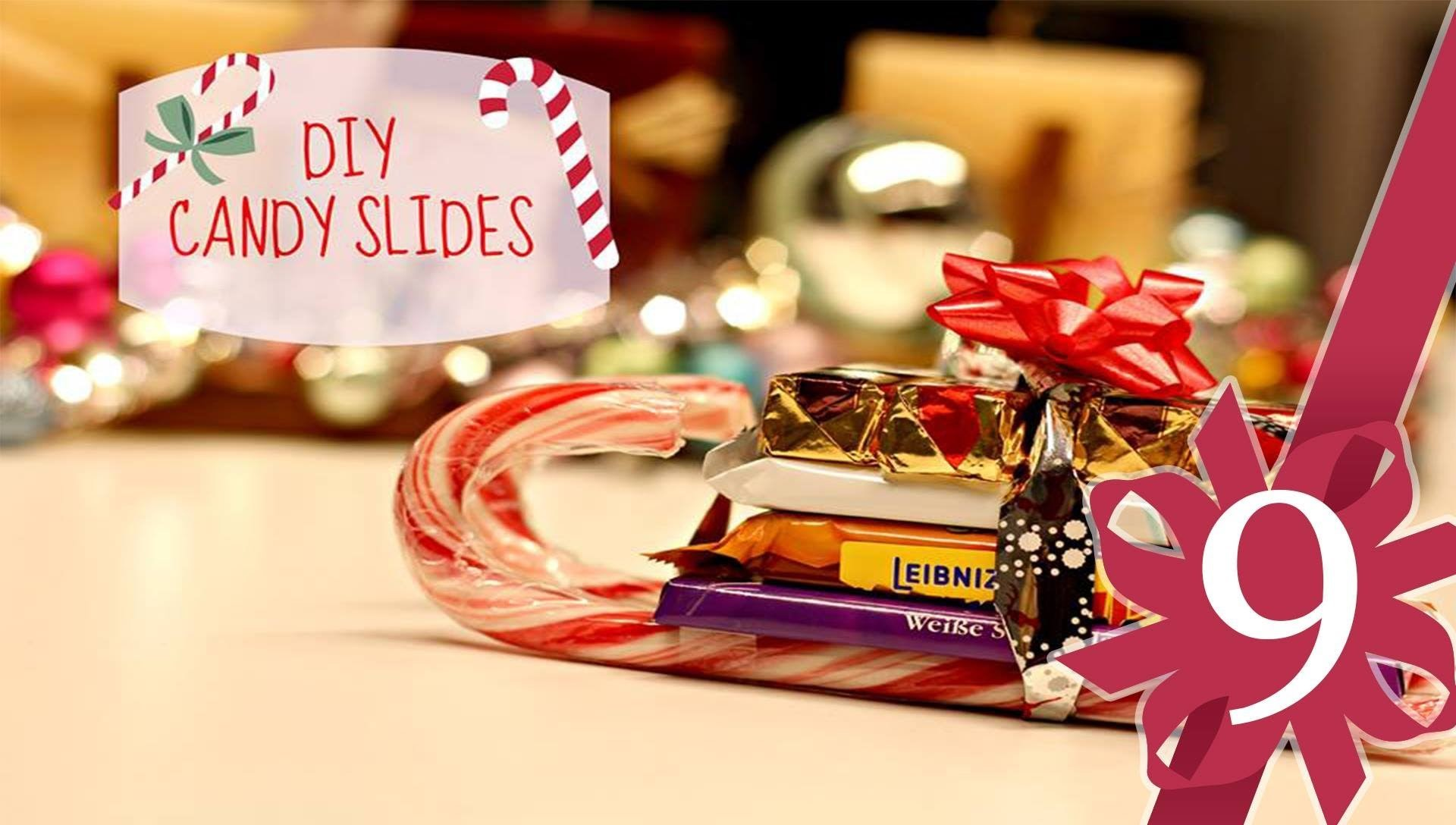 DIY Candy Sleighs - #9 Magnolia Adventskalender